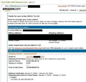 Покупки на Амазоне