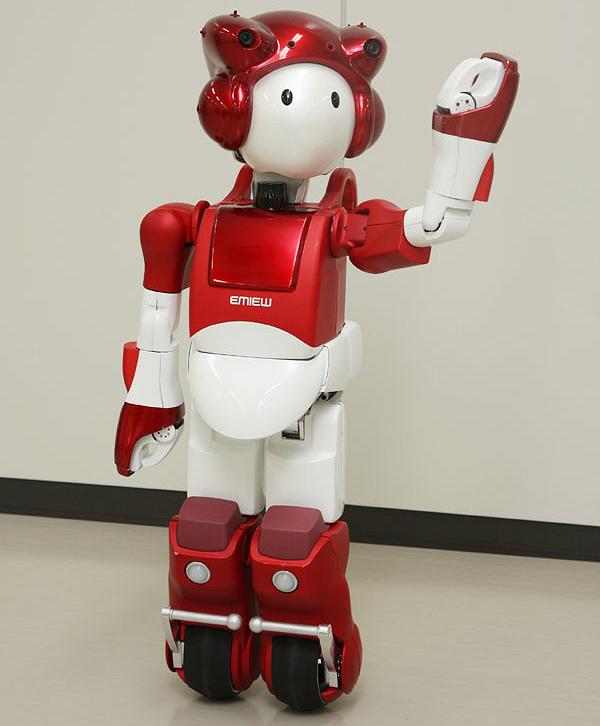 Робот на роликах от Hitachi