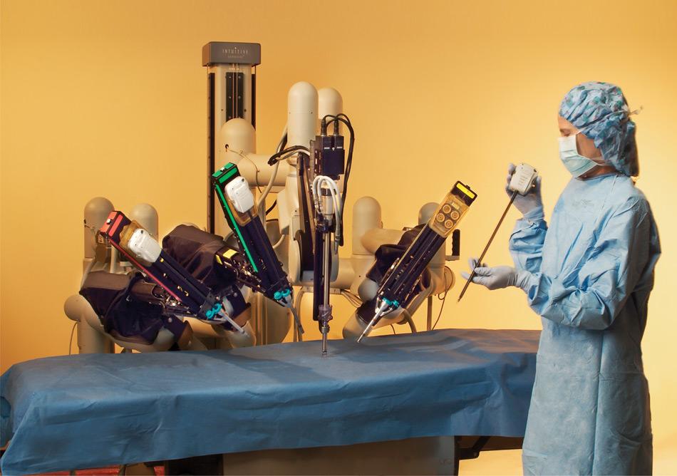 Да Винчи - робот-хирург из будущего