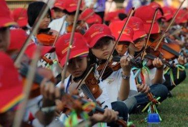 Новый рекорд по игре на скрипке