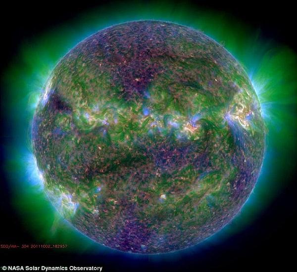 Рентгеновский снимок Солнца