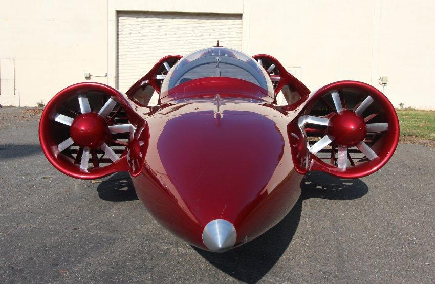 Skycar - гибрид самолета и автомобиля