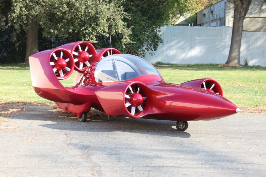 Ранняя версия с 5-ю двигателями