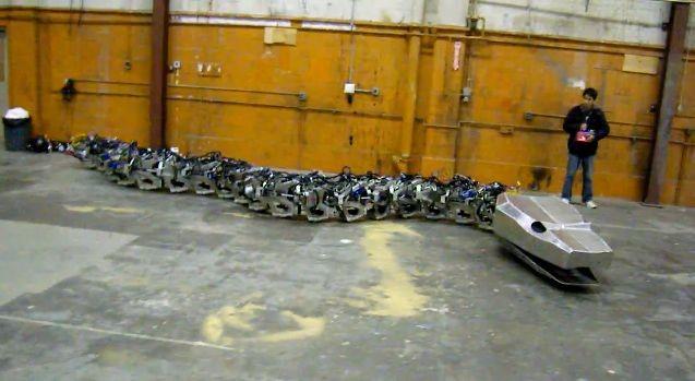 Titanoboa является роботом-копией в натуральную величину доисторических змей