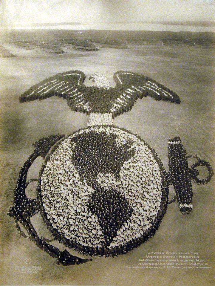 герб морской пехоты