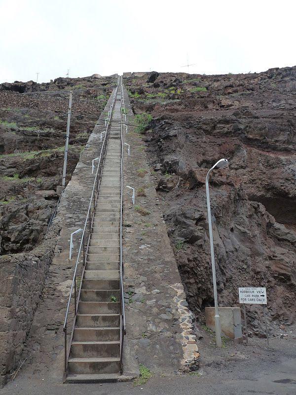 Самая длинная прямая лестница в мире
