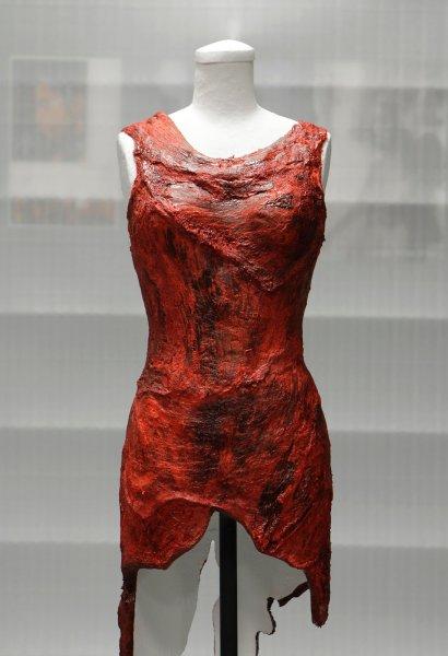 Платье выставлено в Зале Славы Рок-н-ролла