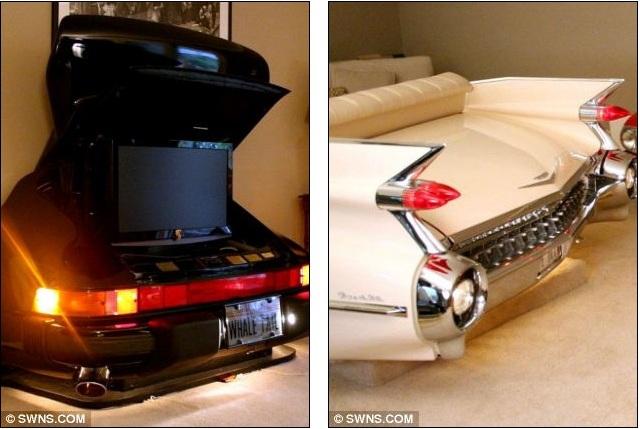 Авто мебель от Тома Конси