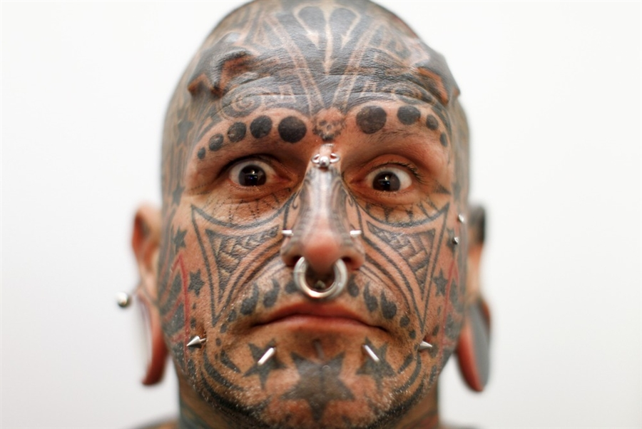 body piercing and tattoos in america