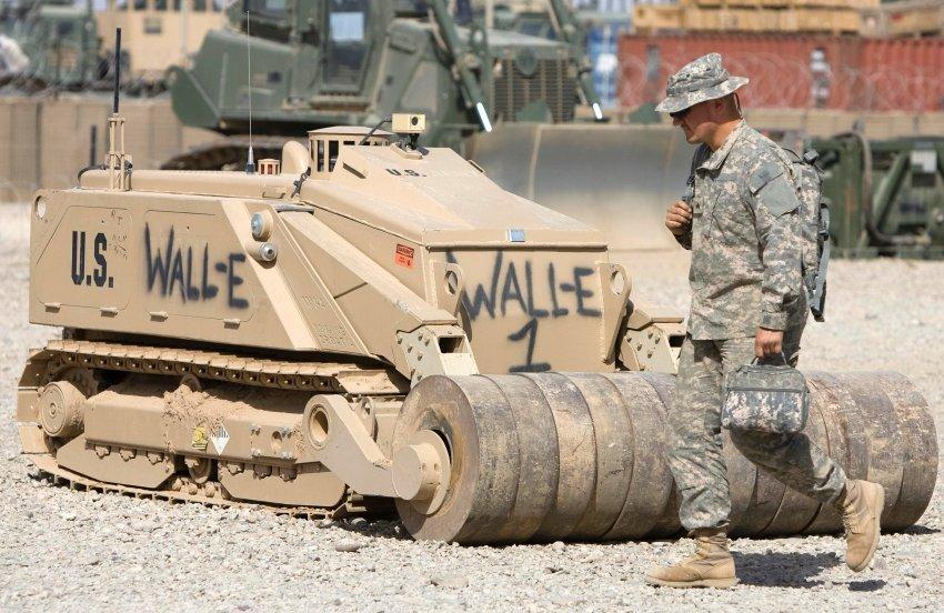 Робот армии США