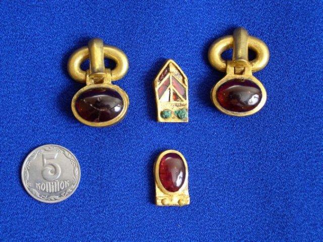 Гуннские сокровища, найденные в одесской области, похитили в.