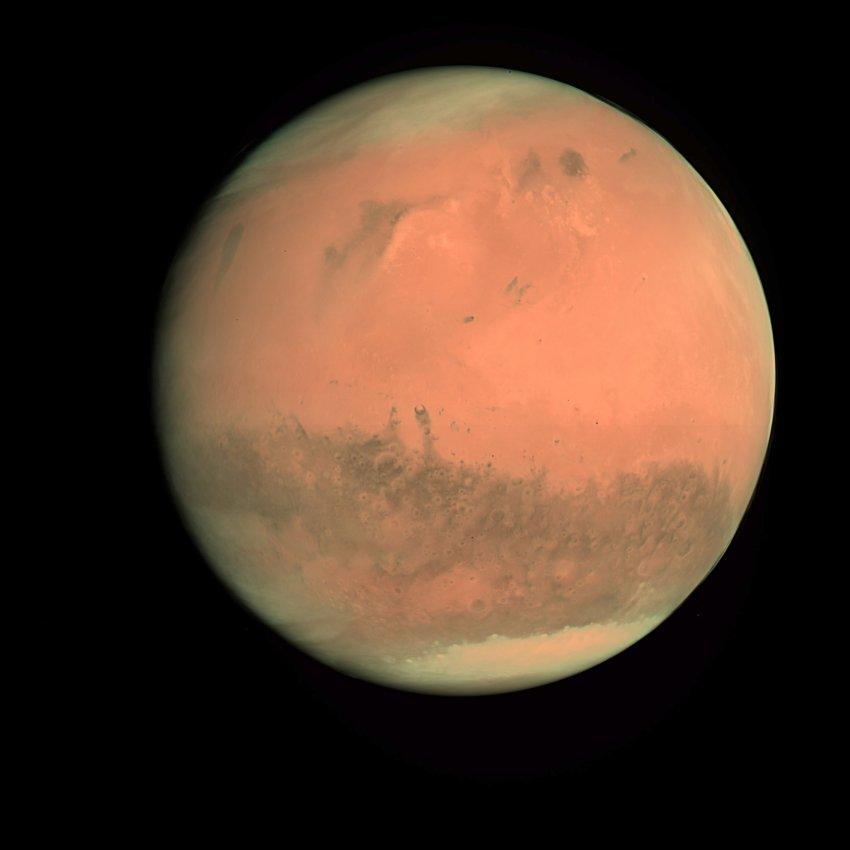 Фото Марса космического агентства ESA/ESOC