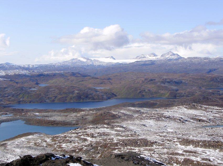 Место в Гренландии, где был обнаружен кратер