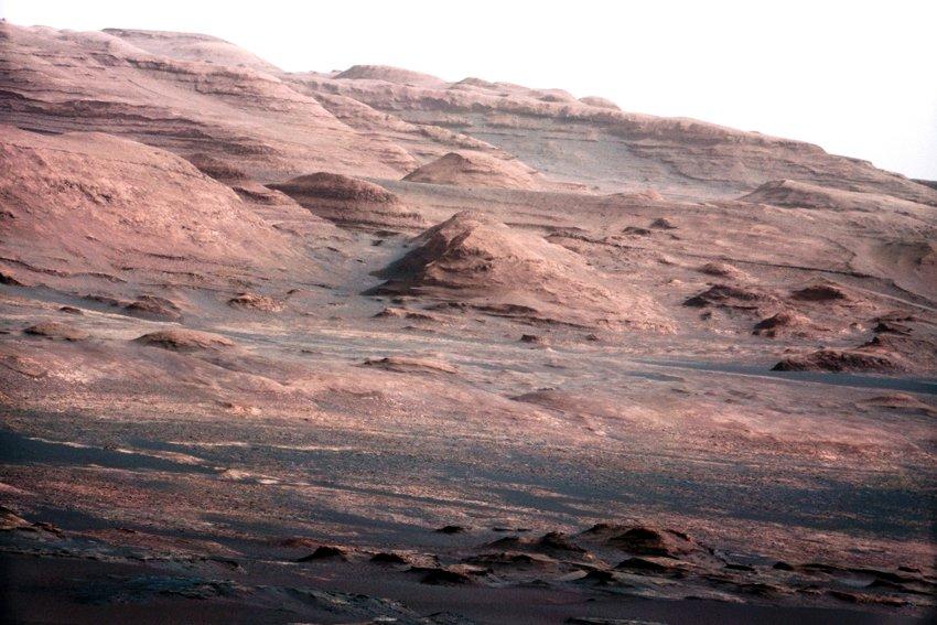 Новые фотографии Марса