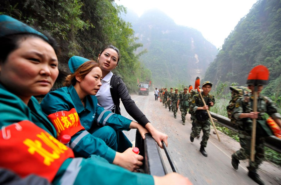 Китай после землетрясения