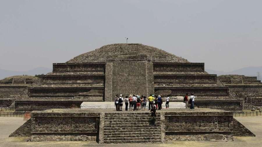 Пирамиды древнего города Теотиуакан