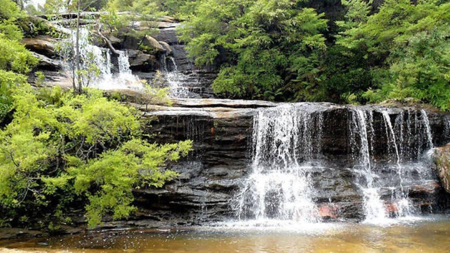 Водопады в Голубых горах, Австралия