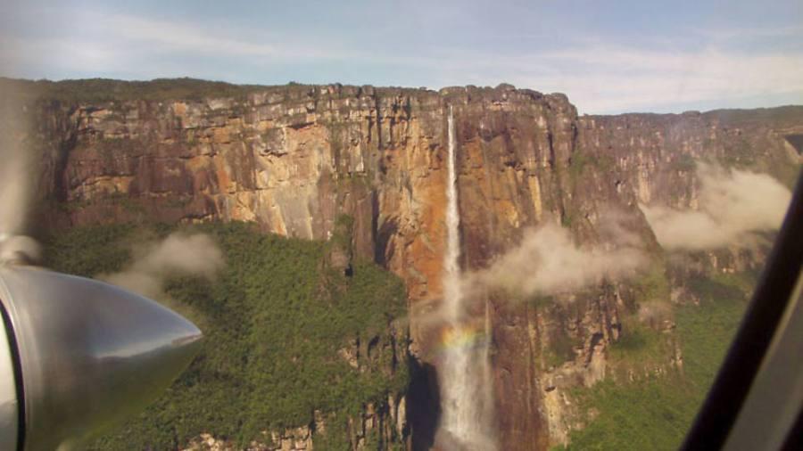Самый высокий в мире - Сальто-Анхель, Венесуэла