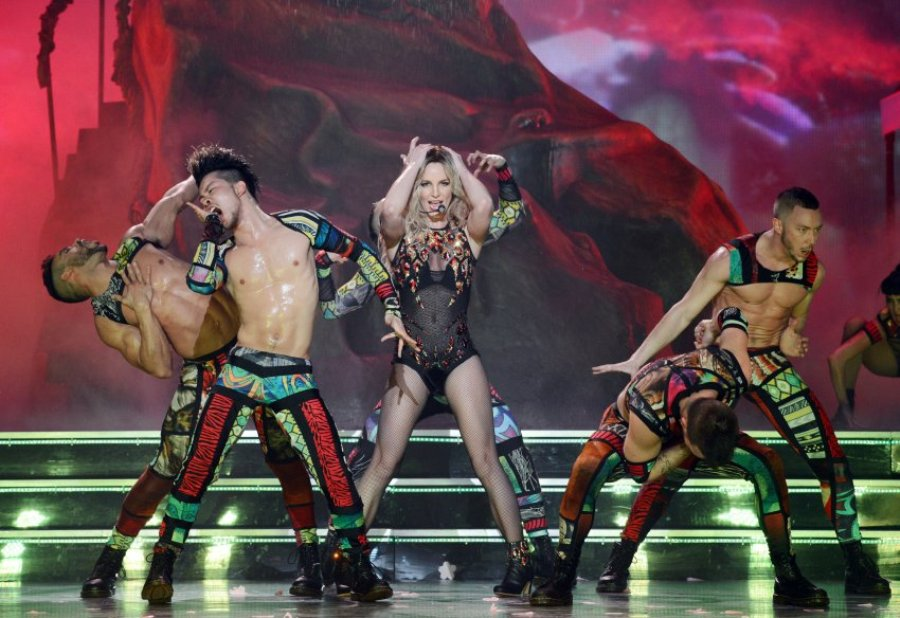 Бритни Спирс в Лас-Вегасе