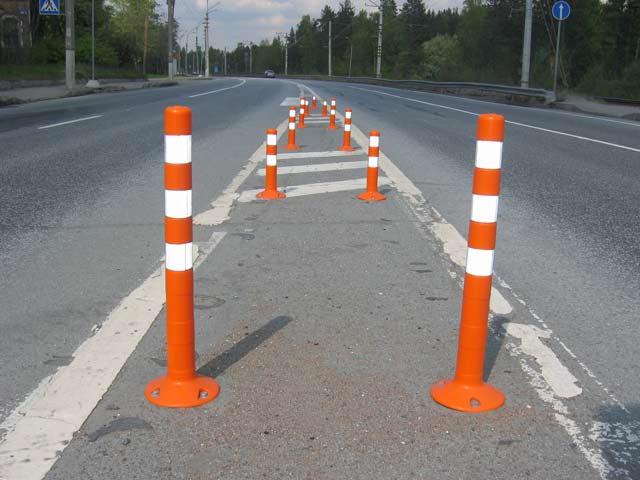 Основные особенности применения парковочных столбиков