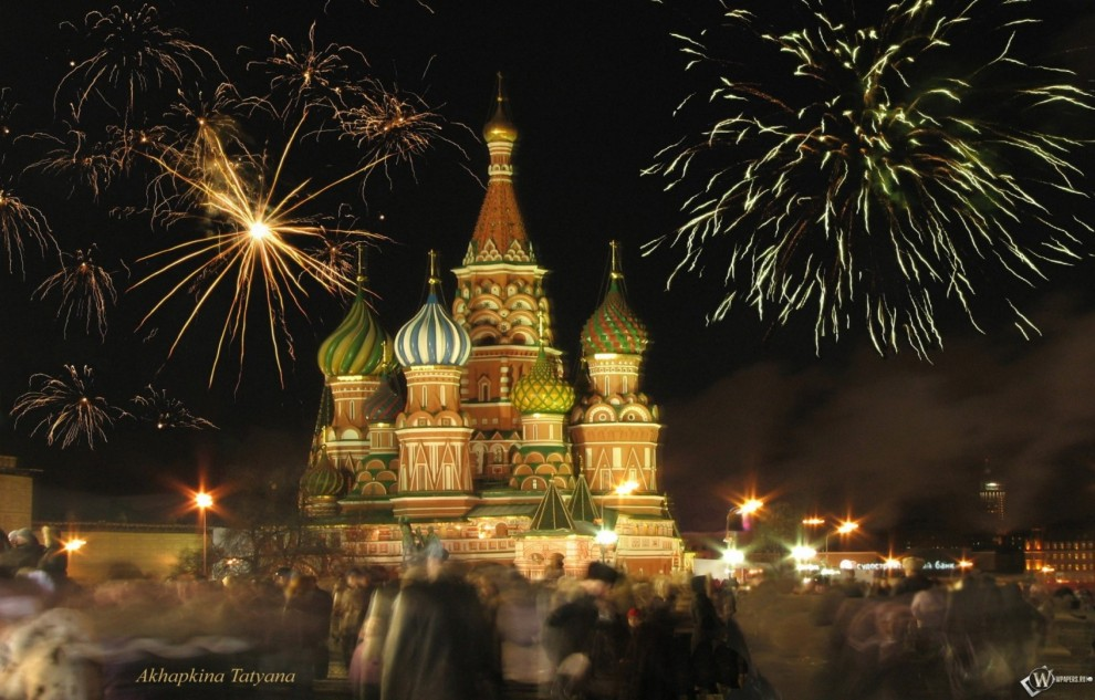 Новый год а Москве