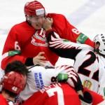 Хоккейная драка Витязь-Авангард