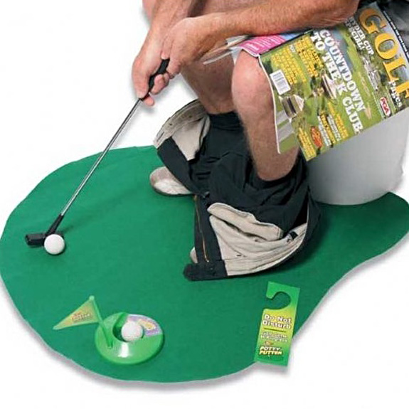 8.Potty Putter