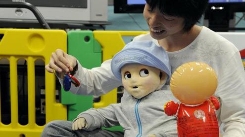 Понять ребенка поможет робот