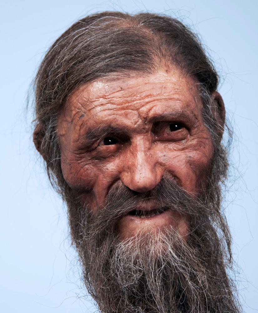 Этци - портрет древнего европейца