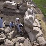 В Египте найдена статуя могущественного фараона