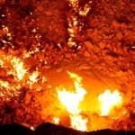 Подземные пожары уничтожают землю