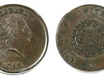 Медная монета стоимостью миллион долларов