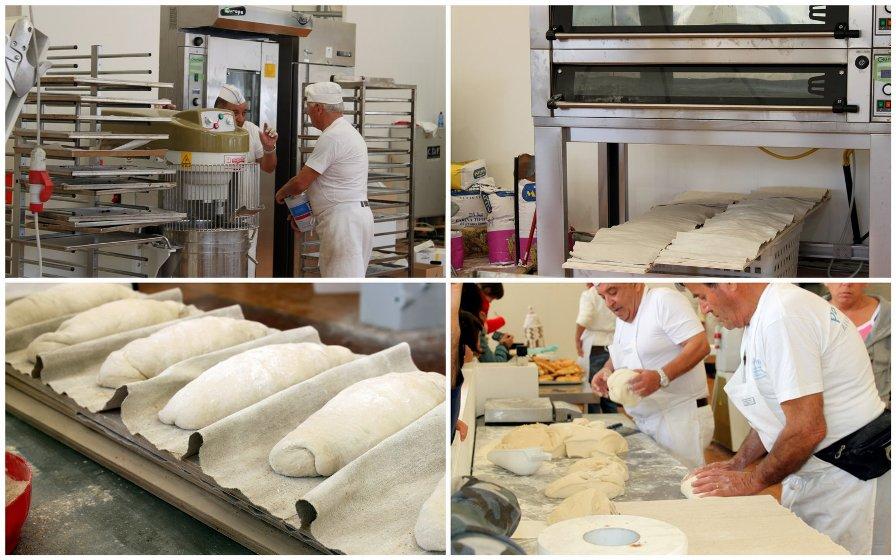 Приготовление хлеба в Италии