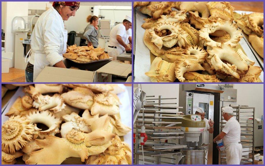 Изготовление хлеба в Испании
