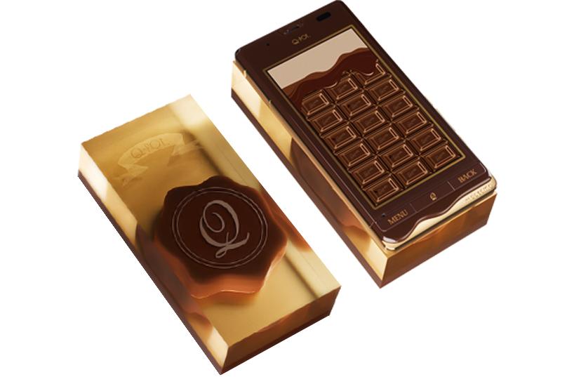 Шоколадная модель sh-04d от DoCoMо