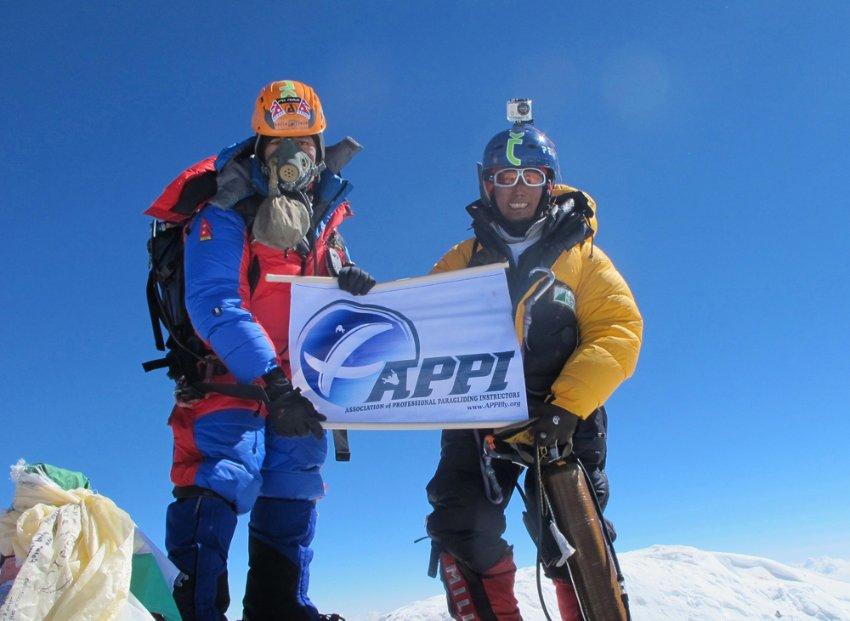 Sano Babu Sunuwar и Lakpa Tsheri Sherpa
