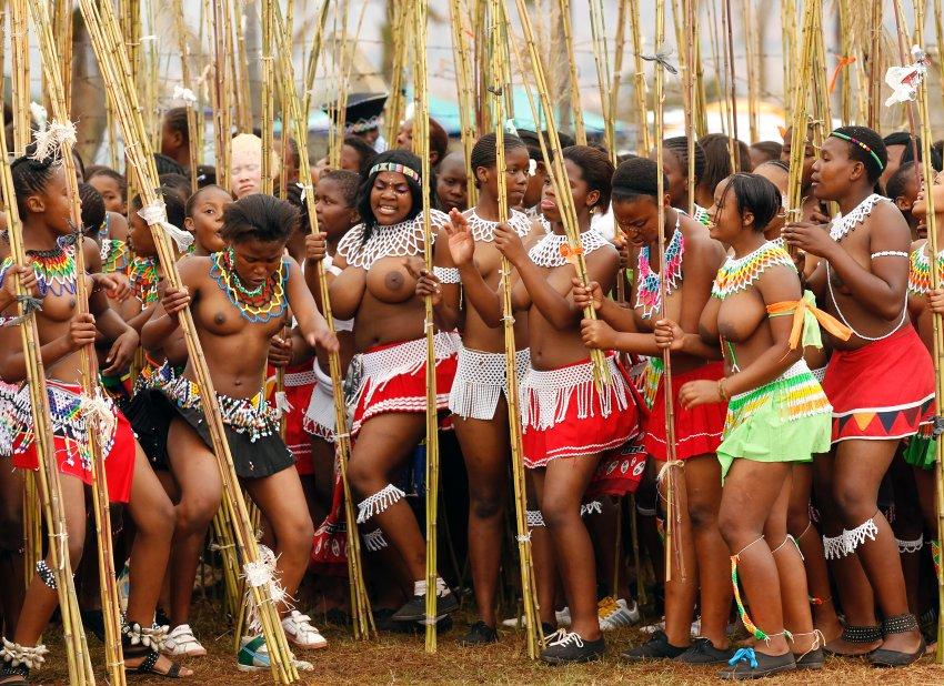 Reed Dance в Свазиленде