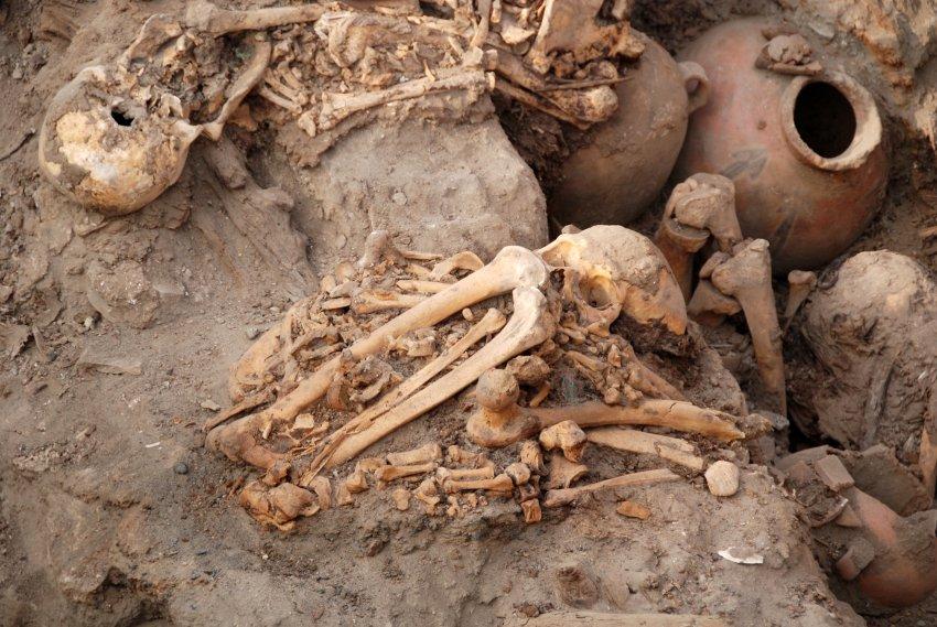 Раскопки в Перу
