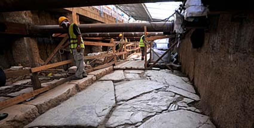 Древняя римская дорога