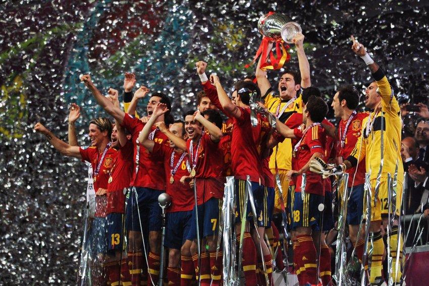 Победители Евро 2012