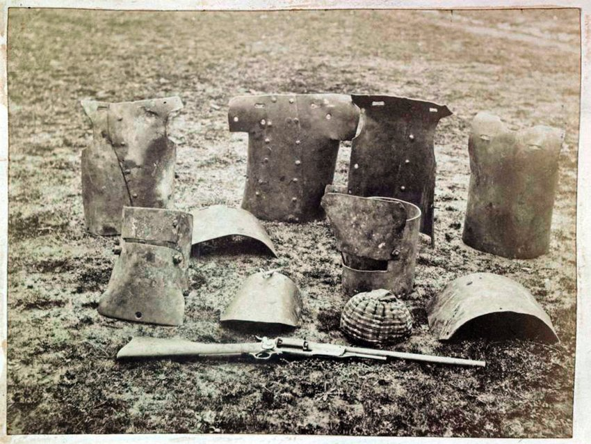 Оружие и другие вещи, принадлежавшие банде Келли