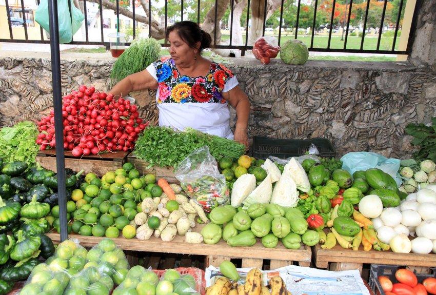 Рынок в Умане