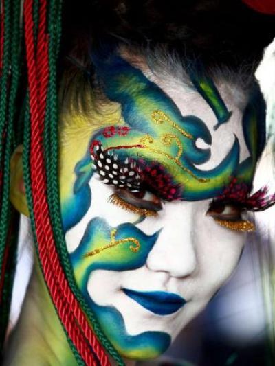 Фестиваль боди-арта в Корее
