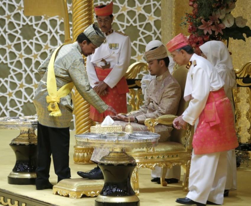 Cвадьба дочери султана