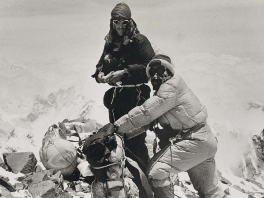 Первое восхождение на Эверест, 1953 г.