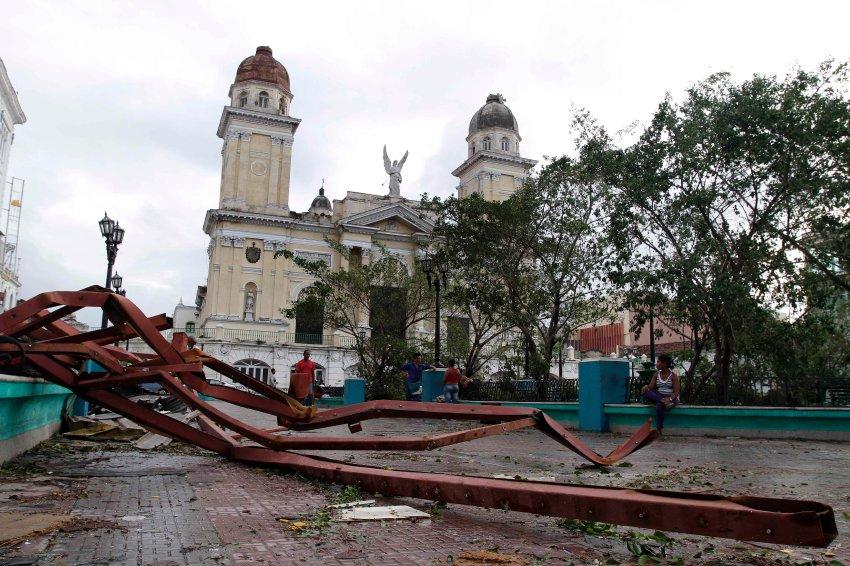 Сильнее всего на Кубе пострадал регион Сантьяго-де-Куба