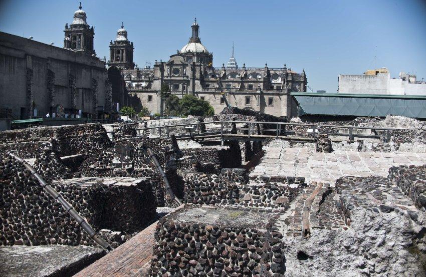 Храм Темпло-Майор в Мехико
