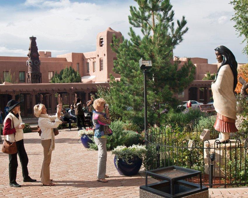 Статуя Катери в Нью-Мексико (США)