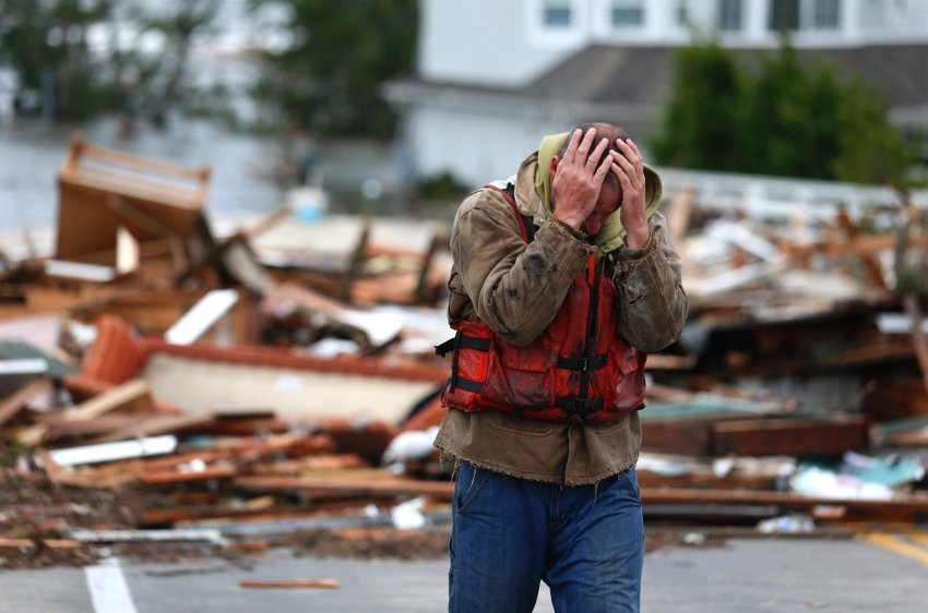 """Последствия урагана """"Сэнди"""""""