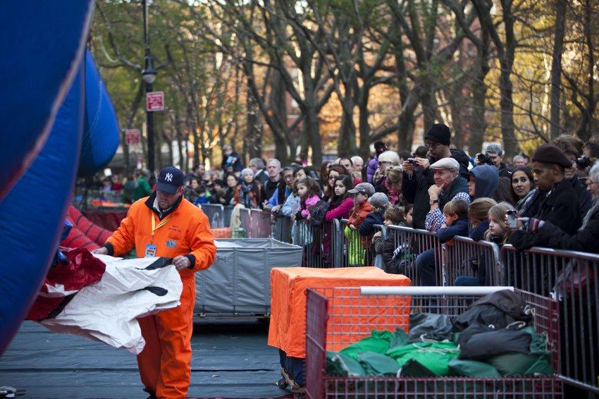День Благодарения в Нью-Йорке